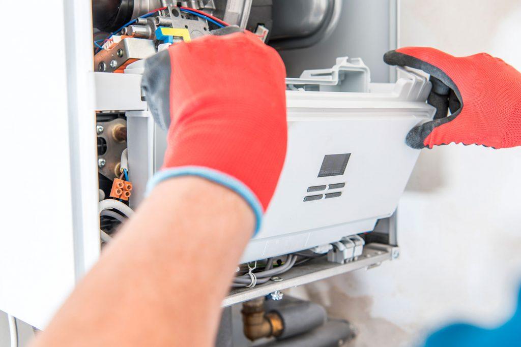 reparación instalación de gas