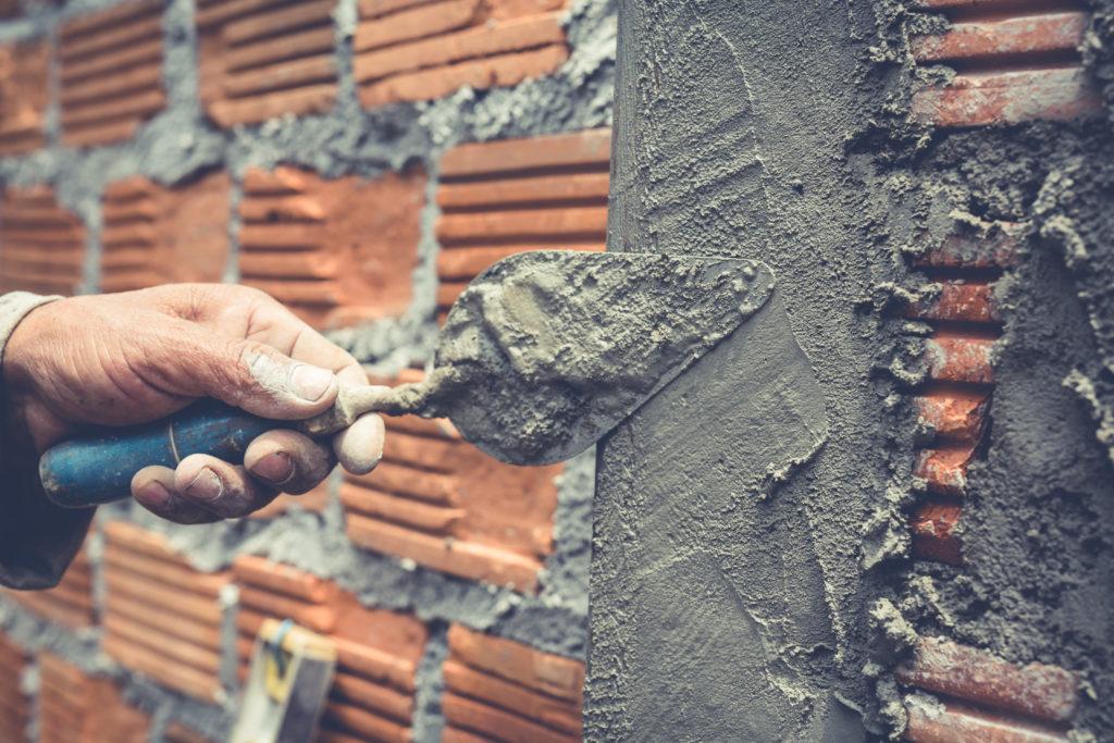rebozado de muro con paletería